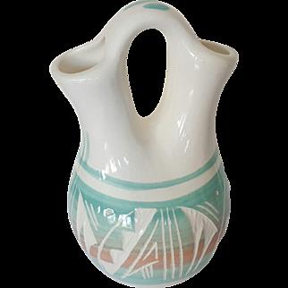 Navajo Begay Wedding Vase, small,