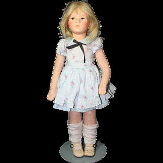 """18"""" Kathe Kruse Doll circa 1935"""
