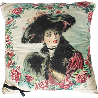 1908 Victorian Style Pillow Top Pillow