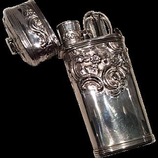 1760/1790 silver Etui Necessaire
