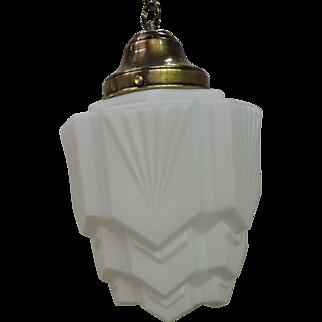 French Art Deco Pendant