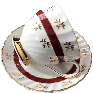 Cup and Saucer Set, Ridgway Pottery, Royal Adderley, England