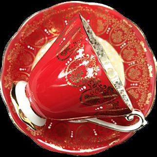 Cup and Saucer Set, Royal Standard, England