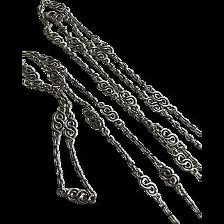 Diamond and Cultured Pearl Gemstone  Shaker 9CT Gold Locket on Albertina Watch Chain