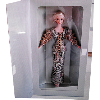 Beautiful Limited Edition Christian Dior Barbie Doll 1995 ~ Factory Mint NRFB
