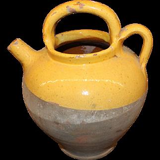 19th Century French Water Cruche