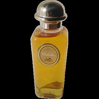 Vintage Caléche HERMES Eau de Toilette 100ml, full and original perfume