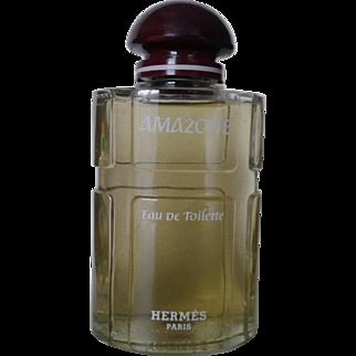 Giant perfume bottle AMAZONE HERMES, circa 70's