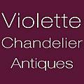 Violette Chandelier Antiques logo