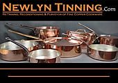 Newlyn Tinning Fine Copper Cookware