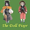 The Doll Fixer logo