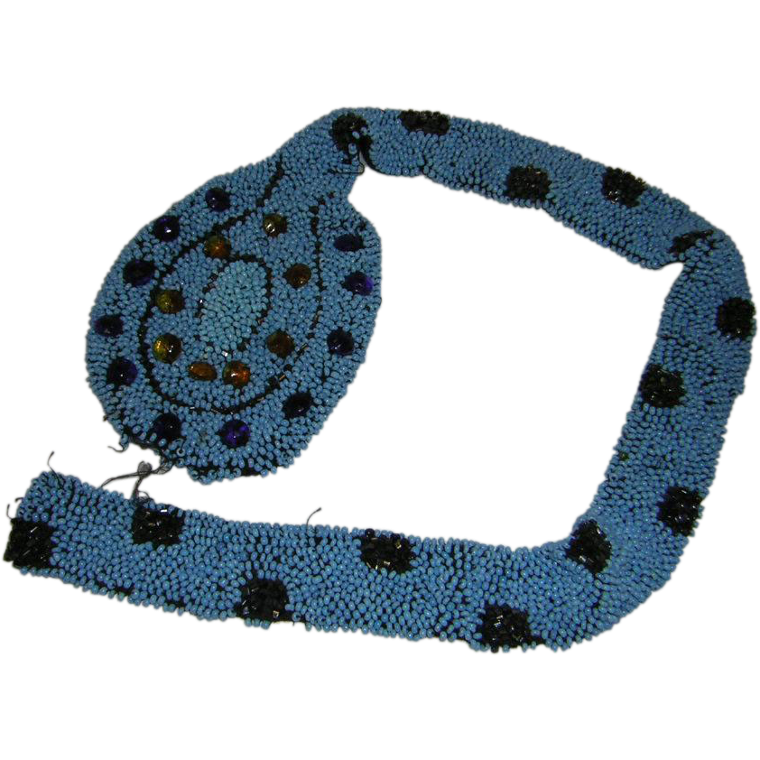 Vintage Beaded Garment Adornment