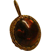 Brown Stone Pendant