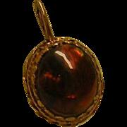 Brown Stone Pendant