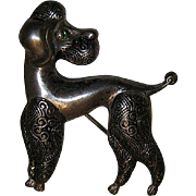 Vintage Dog Pin from Spain
