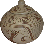 Native American Lidded Pot