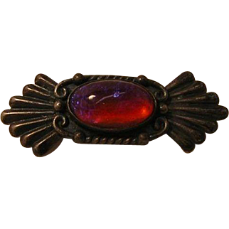 Vintage Dragons Breath Sterling Silver Pin