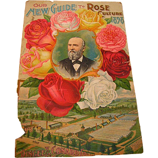 Vintage 1898 Rose Catalogue Cover