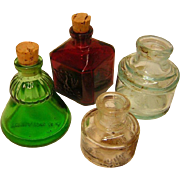 Vintage Ink Bottle Collection