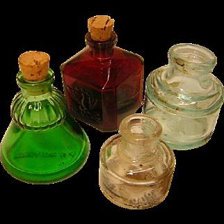 Vintage Ink Bottle Collection