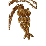Vintage Avon Owl Necklace