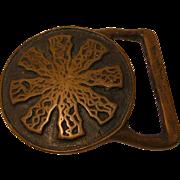 Mid Century Modern Belt Buckle