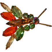 Vintage Juliana Style Bug Pin