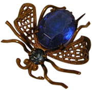 Vintage Czechoslovakian Bug Pin