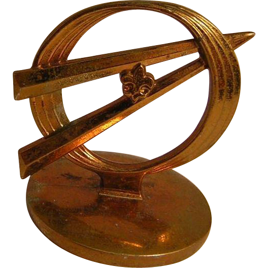 Vintage Company Paperweight
