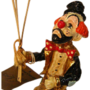 Vintage Clown Sculpture by Ronald A. Lee