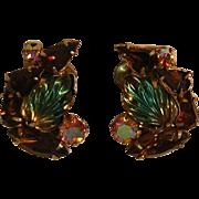 Vintage Fruit Salad Earrings