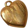Antique Tiny Heart Locket