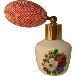 Vintage Perfume Bottle with Atomizer from West Germany