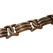 Vintage Modern Sterling Silver Bracelet 1980's Bayanihan 925