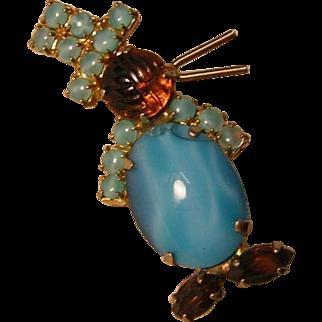 Vintage Figural Penguin Pin