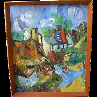 Vintage Painting Impressionistic