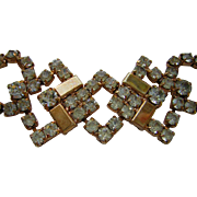 Vintage Sarah Coventry Rhinestone Bracelet