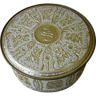 Vintage Decorative Tin