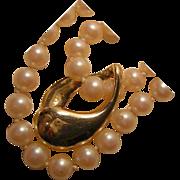 Vintage 14k Gold Necklace Enhancer Slide