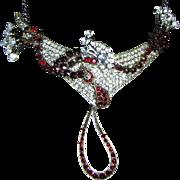 Josty Collage Necklace 'Cosmic Garnets'