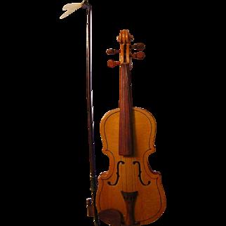 Vintage Miniature Violin in Case