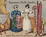Signature Dolls Studio logo
