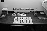 Chris's Watches and Antiques logo