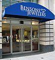 Bensons Jewelers logo