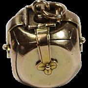Rare Antique Masonic Cube Pendant Circa 1890