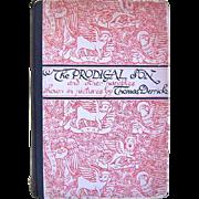 1931 The Prodigal Son by Illustrator Thomas Derrick