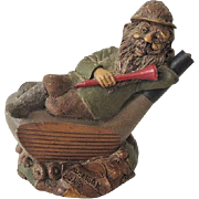 Tom Clark Cairn Studios Mulligan Golfer Gnome 1987 Retired