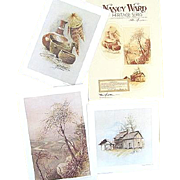 Nancy Ward Heritage Series 3 Limited Edition Prints Initialed by Tennessee Artist Ben Hampton
