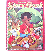 1943 Picture Story Book #3441 Little Black Sambo Cover