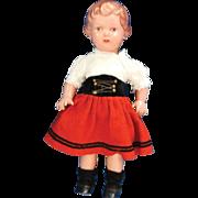 Rheinsche Gummi und Celluloid Fabrik Co., Schildkröte Girl Doll